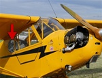 Rear Window (Right) - Piper Cub J-3