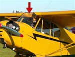 Windshield - Piper Cub J-3