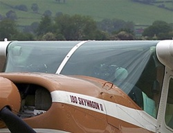 Windshield - Cessna 180 (s/n 30000 thru 31260)