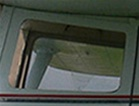 Front Door Window (Left or Right) - Aero Commander/Rockwell Darter 100, Lark 100 - Volaire 10, 10A