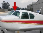 Windshield Mooney Mark 20 A,B,C,D (Left or Right)