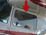 Door Window (Openable) (L or R) - Cessna 182