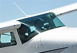 Windshield (One Piece STC) - Cessna 206 Super Skywagon