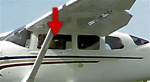 Door Window (Openable) (L or R) - Cessna 206 Super Skywagon