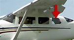 Side Center Window (Rearward, Left) - Cessna 206 Super Skywagon