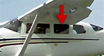 Side Window (Forward, Left) - Cessna 206 Super Skywagon