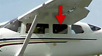Side Window (Forward, Left) - Cessna 206 Super Skywagon