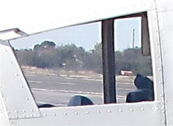 Rear Side Window (Left or Right) - Piper PA-28