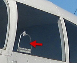 Vent Window (For Pilot Window) - Piper PA-28
