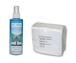 Combo #1 - 50 12 X 13 Dupont Sontara Wipes & 8 oz. spray bottle of our premium windshield cleaner