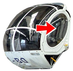 Hughes Helicopter 269-300 Series - Door Window (L or R)
