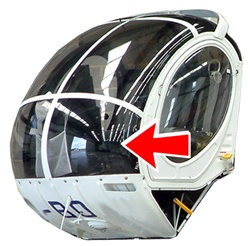 Hughes Helicopter 269-300 Series - Lower Windshield (L or R)