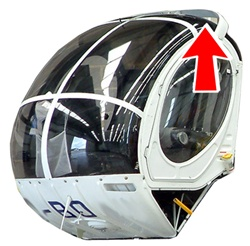 Hughes Helicopter 269-300 Series - Top Windshield (L or R)