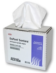 Dupont Sontara Wipes- XL 9x16.5 100 count